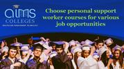 Choose personal support worker courses for various job opportunities