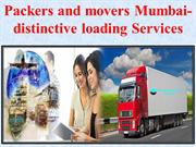 Packers and movers Mumbai- distinctive loading Services