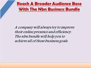 nbn bundle for business use in Hobart