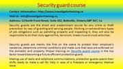 The Hidden Mystery behind Security guard course