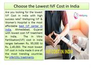 Choose the Lowest IVF Cost in India with Highest Success Rate