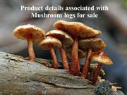 Product details associated with Mushroom logs for sale