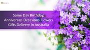 Order Midnight Birthday Flowers delivery in Australia