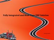 Fully Integrated and Real-Time ERP Solution
