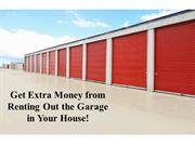 Get Extra Money from Renting Out the Garage in Your House!