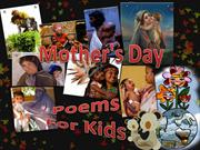 Mother's Day Poems For Kids