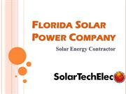 Florida Solar Power Company - Solar Tech Elec LLC