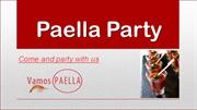 Plan a Perfect Paella Party with Us