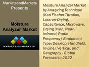 Moisture Analyzer Market