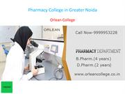 Pharmacy College in Greater Noida