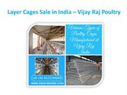Layer Cages Sale in India  Vijay Raj Poultry
