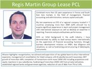Regis Martin Group Lease / Regis Martin GL