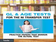English Practice Papers for NI Transfer tests