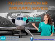 Book Best Air Ambulance Service from Chennai to Delhi by Peliocn Aviat