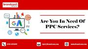 Why To Use PPC Advertising Services?