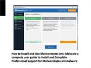 How to install and Use Malwarebytes Anti-Malware-converted