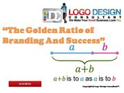 The Golden Ratio of Branding And Success