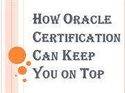 Significance of Oracle Certification – Things you Should Be Aware Of