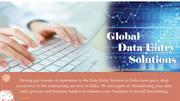 Data Entry Service Provider _ Outsourcing for Brands