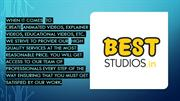 Best Studios:Animated  Explainer Video Company