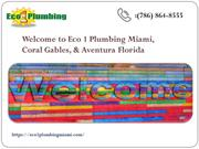 Get All Type Plumbing Repairs from Plumbing Miami