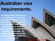 Apply Australia Visa Online