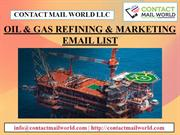 OIL & GAS REFINING & MARKETING EMAIL LIST