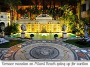 Versace Mansion going up for auction