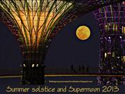 Summer Solstice and Supermoon 2013
