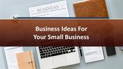 Stanislav Komsky - Small Business Ideas For Small Business Startups