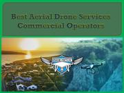 Best Aerial Drone Services Commercial Operators