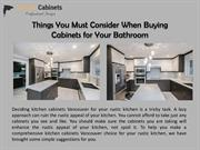Kitchen Cabinets Vancouver Ideas for Your Rustic Kitchen