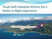 Hawaiian Airlines Reservation Number