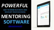 Powerful way to grow and develop your business with Mentoring Software