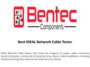 Best IDEAL Network Cable Tester
