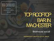 Best Rooftop Bar in Manchester with Live Music Lounge & Pool Hall