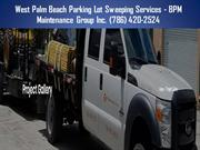 Miami Parking Lot Sweeping Services