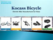 Best Electric Bike Manufacturer in China