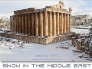 Snow in the Middle East - January 2013