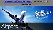 Airport transfer Service in Essex, Chelmsford & London