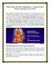 Hindu Pujas and Their Significance – Contact to Best Indian Astrologer