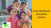 Early childhood education games