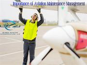 Importance of Aviation Maintenance Management