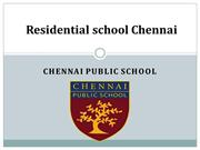 Top reasons to select a residential school in Chennai