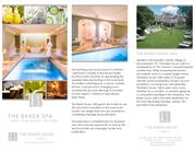 The Baker Spa - Best East Hampton Spa and Resort