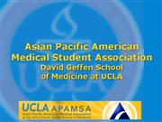 UCLA APAMSA Chapter Summary