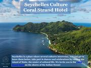 Seychelles traditions - Coral Strand Hotel