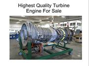 High Quality Turbine Engine For Sale