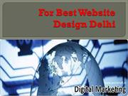 For Best Website Design Delhi