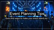 Best sure shot methods for event organizers